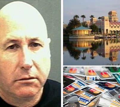 Jeffrey Hawkins estafó por 28.000 dólares a la cadena hotelera Disney. Cuando lo arrestaron dijo que estaba cansado de huir.