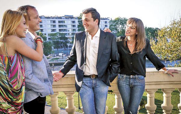 Insaurralde no descartó ayer la posibilidad de dar un salto al Frente Renovador al destacar su amistad con Sergio Massa.
