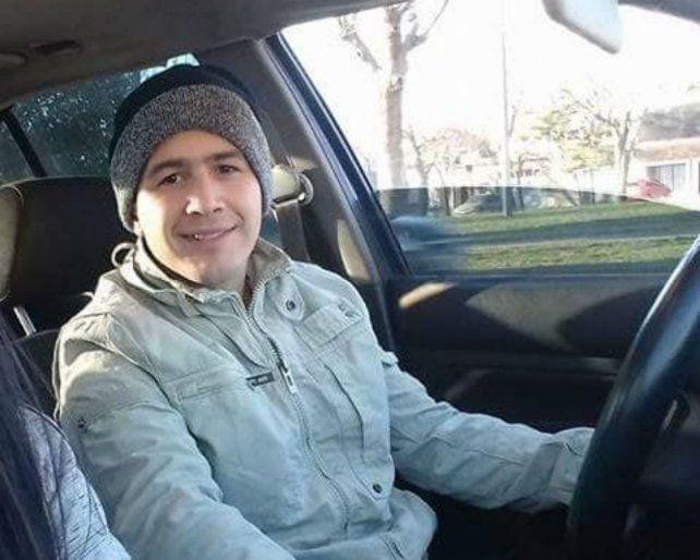 Sin rastros. Nahuel Chino Fernández desapareció el 26 de agosto.
