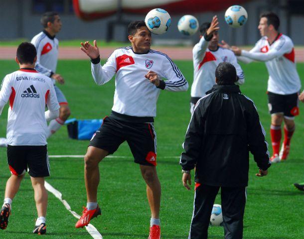 """Apoyo colombiano. El delantero dijo que """"con Ramón vamos a ganar cosas""""."""