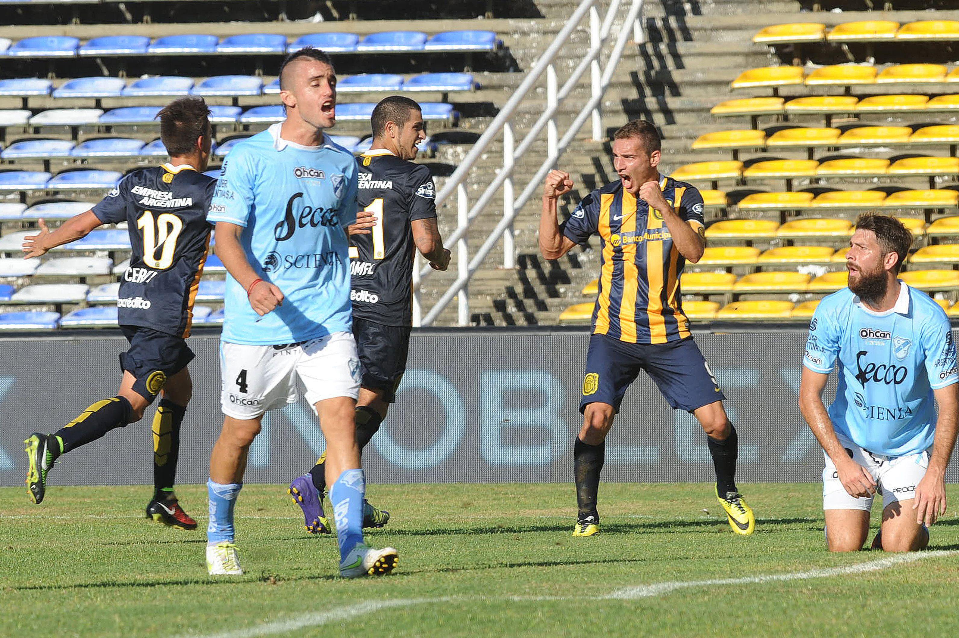 Treinta gritos los de Marco Ruben en el Canalla: 27 en torneos argentinos y 3 en la Libertadores.