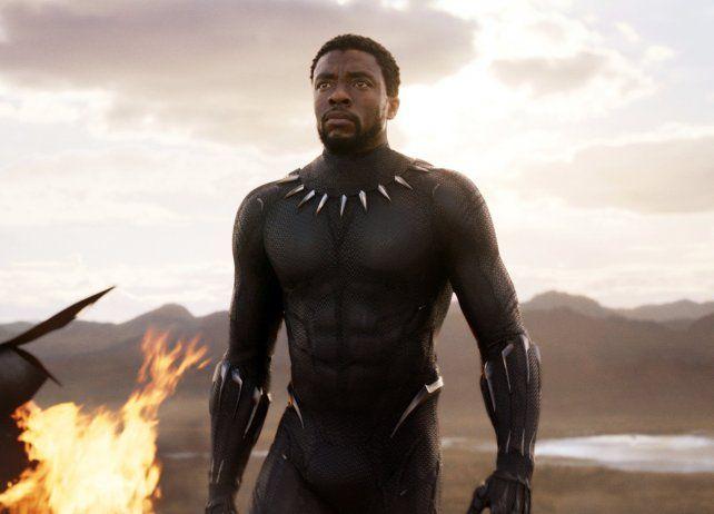 Pantera negra. El disfraz del personaje ha suscitado un debate.