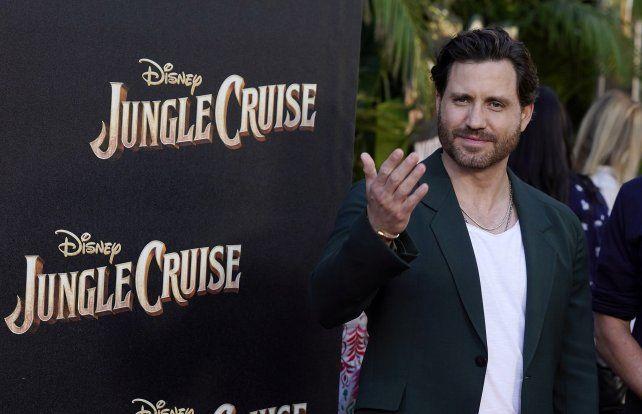"""El actor venezolano Edgar Ramírez interpreta a un personaje clave en """"Jungle Cruise""""."""