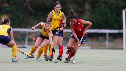 En acción. Virginia jugando en Concepción, Chile, lugar al que llegó hace cuatro años.