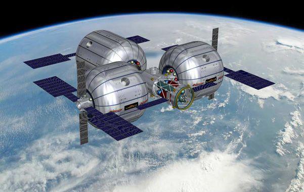 Ejemplo. Un módulo cósmico que está desarrollando la empresa Bigelow.