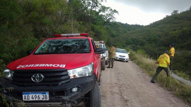 Más rescatistas. Los organizadores de las tareas de rastrillaje sumaron ayer más brigadas y voluntarios.