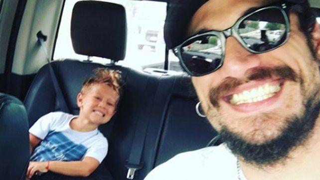 Repudio por una imprudencia de Daniel Osvaldo con su hijo