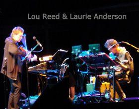 Lou Reed y Laurie Anderson fascinaron a Fráncfort con su show minimalista