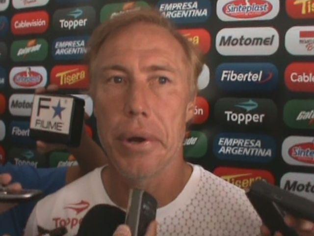 Newells: Sensini confirmó a los once titulares para el partido de mañana frente a Huracán