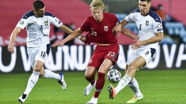 La potencia y los goles del noruego Erling Haaland serán grandes ausentes de la Euro.