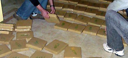 Hallan 151 kilos de marihuana tras la detención del traficante Halford