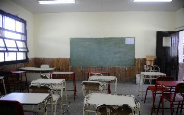 Sin alumnos. El gremio de los maestros denunció que las actividades fueron informadas a último momento.