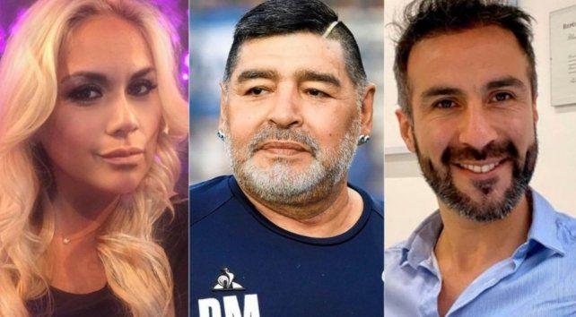 Verónica Ojeda puso reparos a la labor del médico Leopoldo Luque en el tratamiento de Diego Maradona.