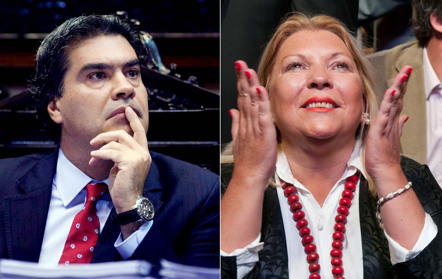 Capitanich y Lilita cruzaron dardos el día después del informe del primero a Diputados.