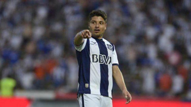 En la mira. Sebastián Palacios ya fue tentado por los canallas. Juega en Talleres pero su pase es de Pachuca.
