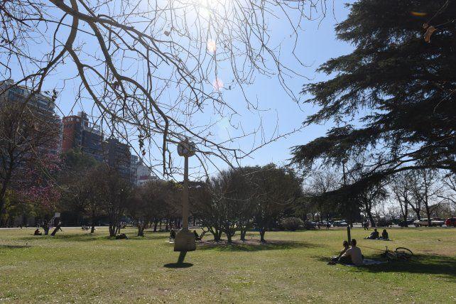 El parque Urquiza fue reforestado hace 23 años por la gestión de Hermes Binner.