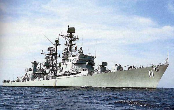 Poder naval. El destructor Mahan cuenta con misiles de crucero.