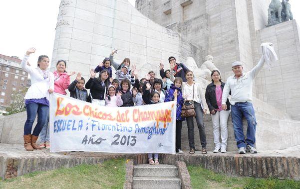 Los estudiantes de la escuela rural de Córdoba no salen de su asombro por la experiencia.