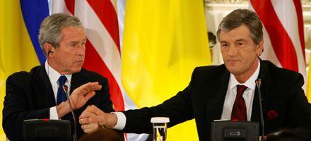 Claro respaldo de Bush al ingreso de Ucrania a la Otán