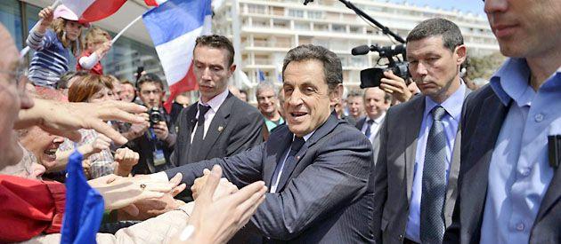 Sarkozy se muestra optimista al cierre de campaña