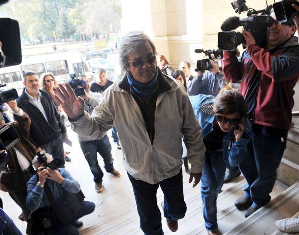 El padrastro de Angeles prestó declaración en la Justicia. (Foto: Télam)