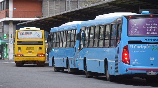 El sistema de transporte sigue inmerso en una crisis muy profunda.