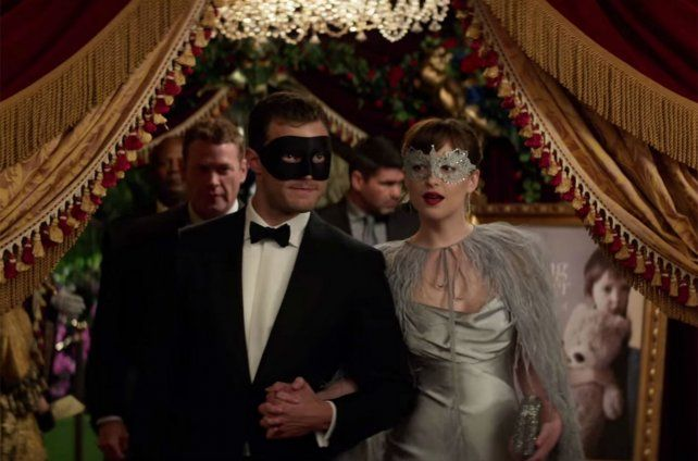 La película es la secuela de Cincuenta sombras de Grey.