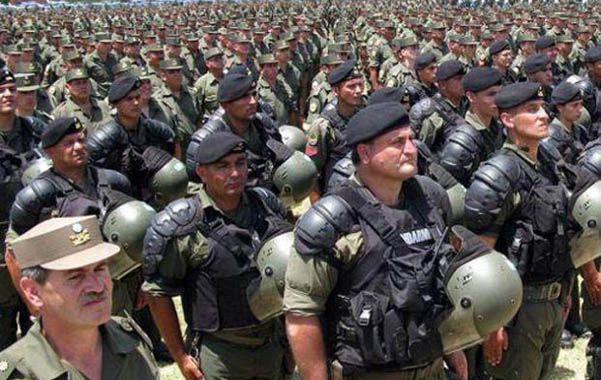 El traslado. Casi 750 gendarmes que cumplían funciones en Santa Fe se encuentran ahora en el conurbano.