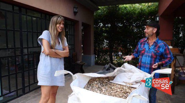 Estamos creando suelo fértil de la basura