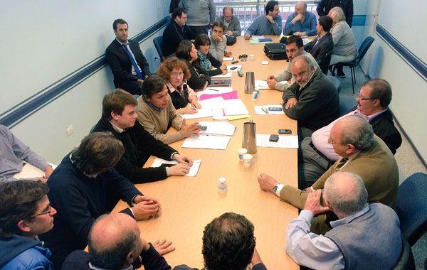 Los comerciantes se reunieron con los concejales de la comisión de seguridad.