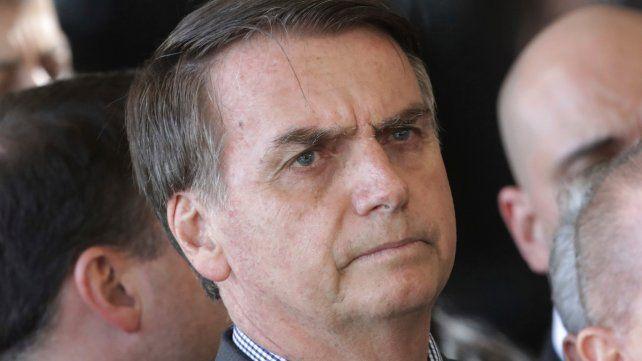 Línea dura. Jair Bolsonaro se ha hecho famoso por su conservadurismo moral de viejo cuño.