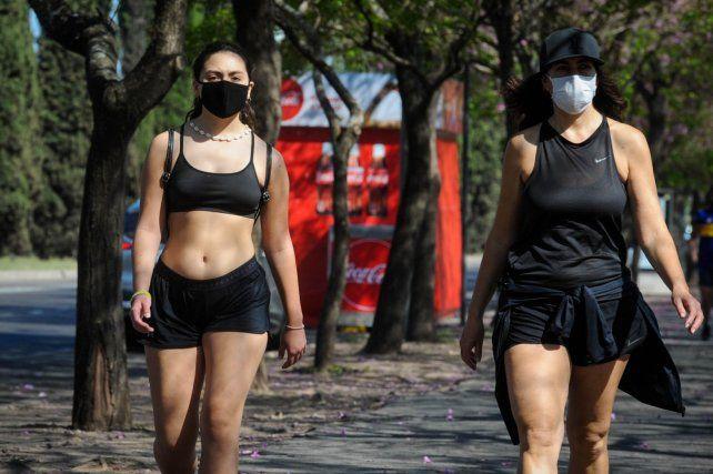 ROSARIO. Los días de calor y humedad