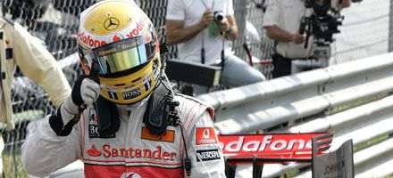 F-1: Hamilton largará en punta en el Gran Premio de Italia