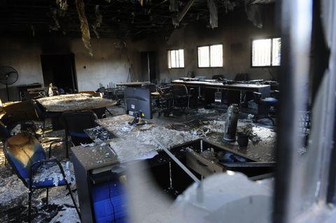 Destrucción. Las llamas devoraron todas las instalaciones del NAC y dejaron desolación y dolor en chicos y grandes.