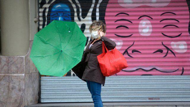 Alerta por lluvias y tormentas fuertes para toda la provincia