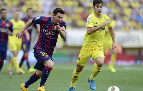Pulga. Messi sufrió una molestia física y es baja en la selección.
