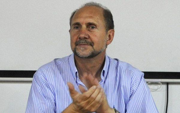 Omar Perotti habló del narcotráfico. (H.Rio)