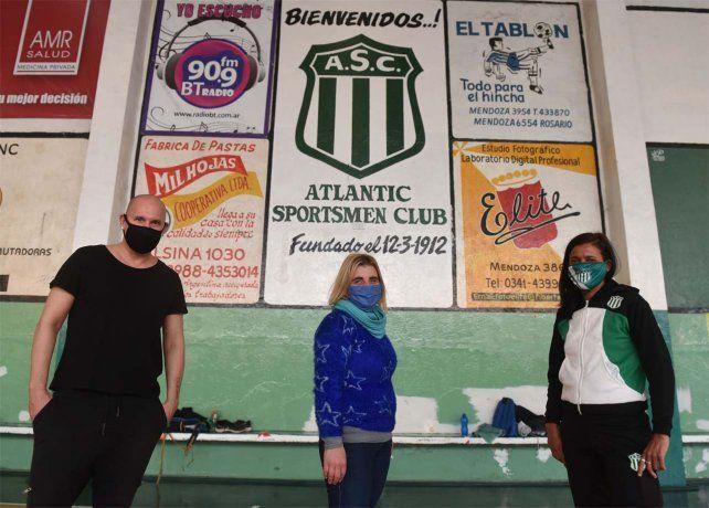 Una original movida solidaria para salvar al club Atlantic Sportsmen