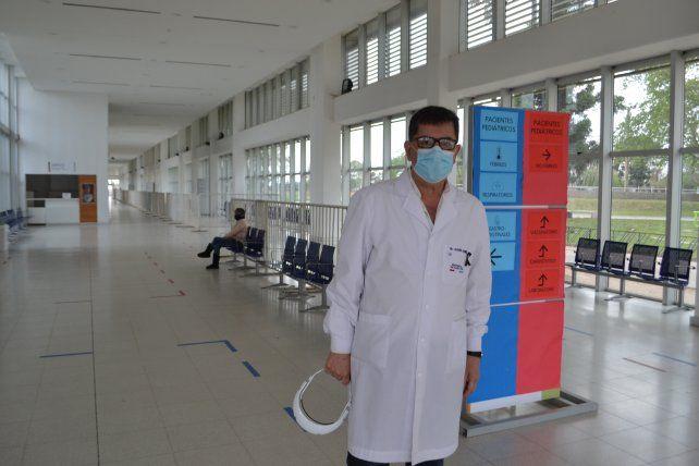 El director del hospital Gutiérrez
