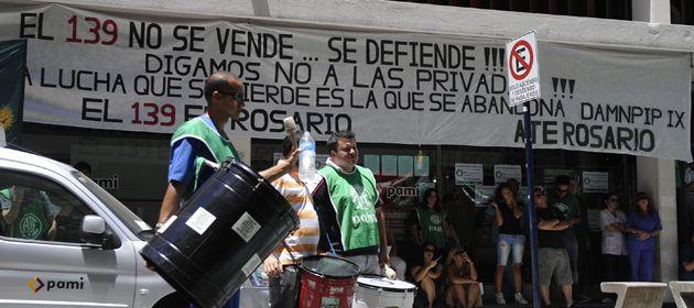 La iniciativa para privatizar el servicio de ambulancias generó un conflicto con los trabajadores. (Foto de archivo: M. Sarlo)