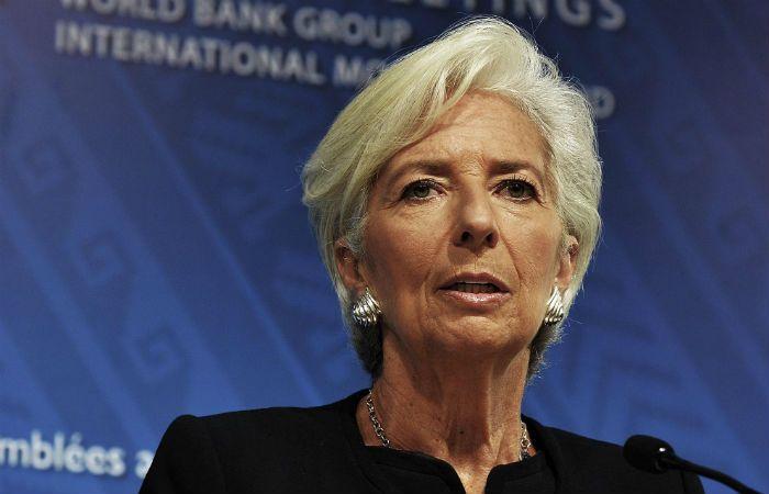 La titular del FMI difundió el informe.