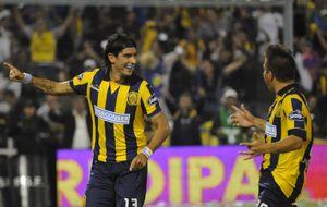 El gol que le anularon al Loco Abreu y que podría haber cambiado el resultado
