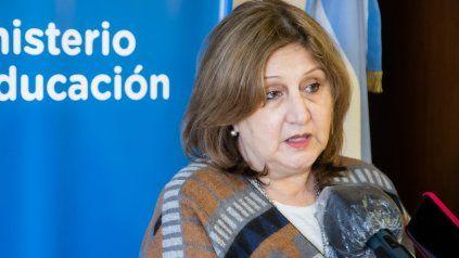 La ministra de Educación de Santa Fe, Adriana Cantero, se refirió al inicio de clases a partir del lunes.