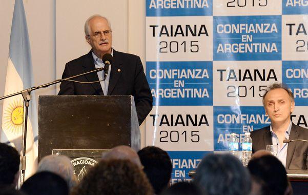 Taiana estuvo en Rosario