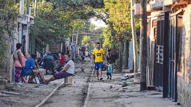 Barrios vulnerables. La pobreza extrema trepará del 14