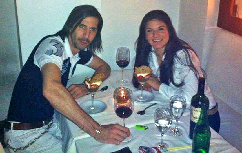 Otra epoca. Fernanda y Javier cuando eran novios y soñaban el futuro.