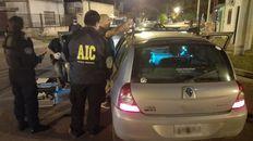 El Renault Clio de Joaquín Pérez fue hallado por la policía a unas diez cuadras de donde ocurrió el crimen.