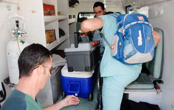 Operativo. Las acciones realizadas para poder trasplantar un órgano soy muy complejas; una verdadera carrera contrarreloj.