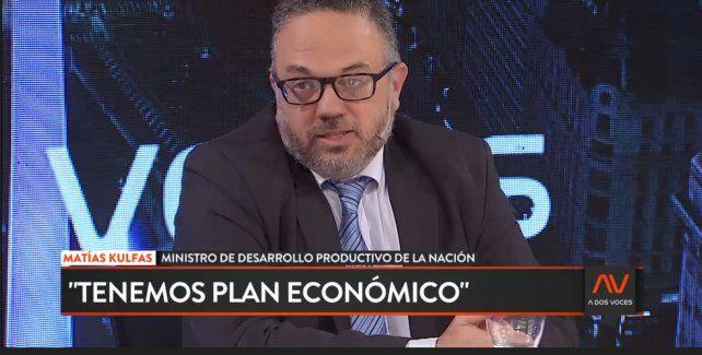 Kulfas: Hay gente que piensa que un plan económico es un PowerPoint