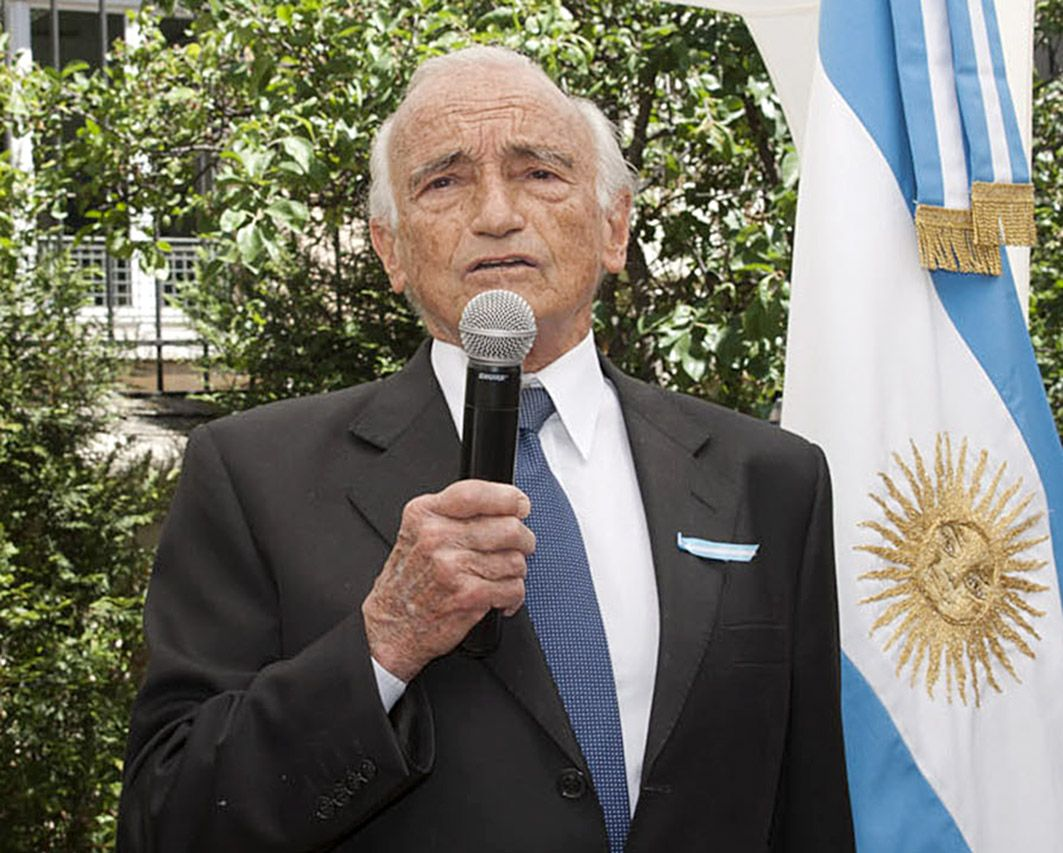 Desarrollista. Aldo Ferrer fue uno de los impulsores del Plan Fénix. (NA)
